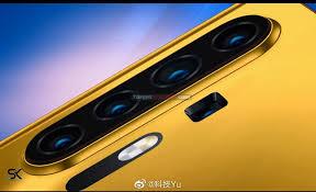 huawei p40 pro rendering fotocamera